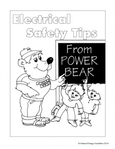 Electrical Safety Tips from Power Bear